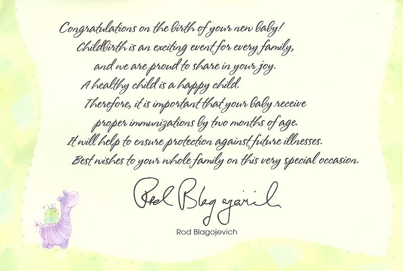 Rod's letter